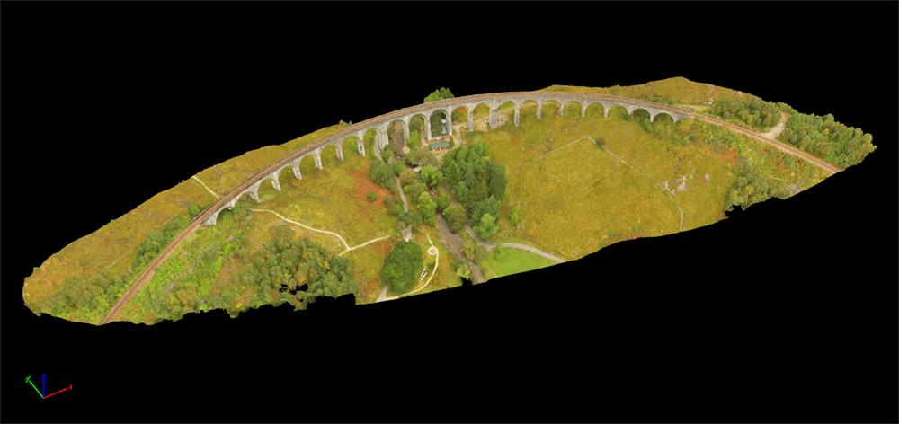 drone topographic survey