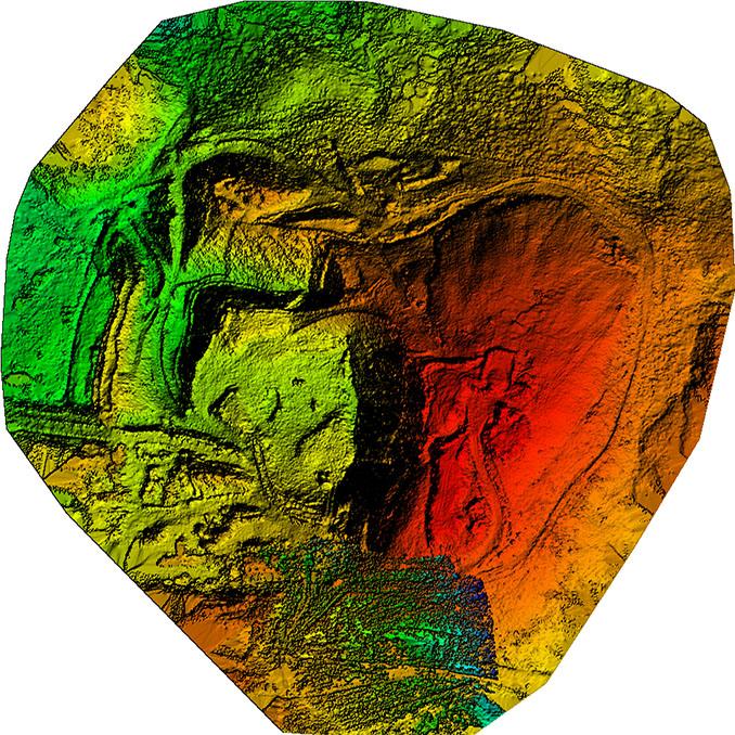 UAV digital surface model DSM