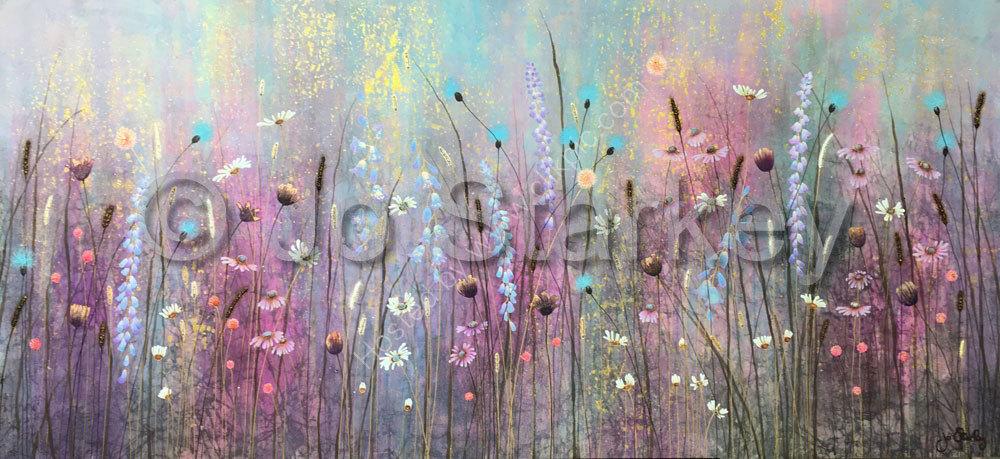 Jo Starkey Landscape Meadow Painting