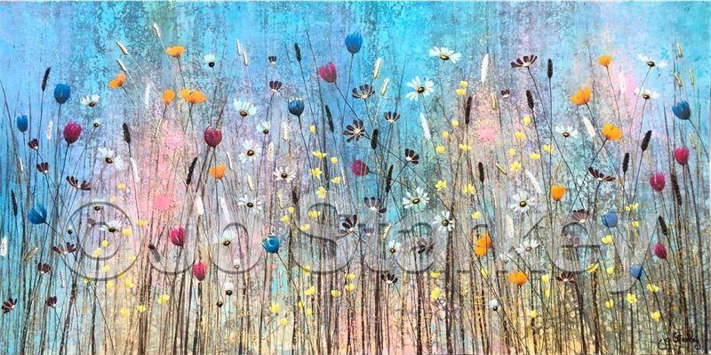 'Landscape Summer Meadow by Jo Starkey'
