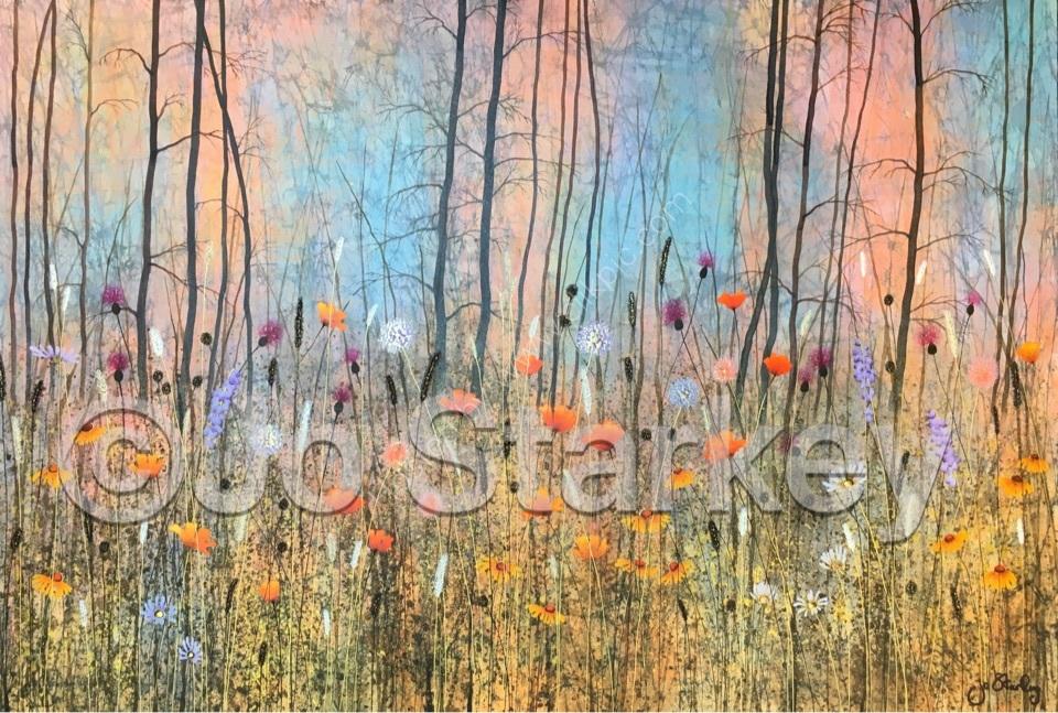 'Summer Woodland by Jo Starkey'