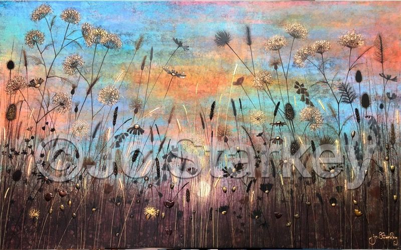 'Sunset Meadow by Jo Starkey'