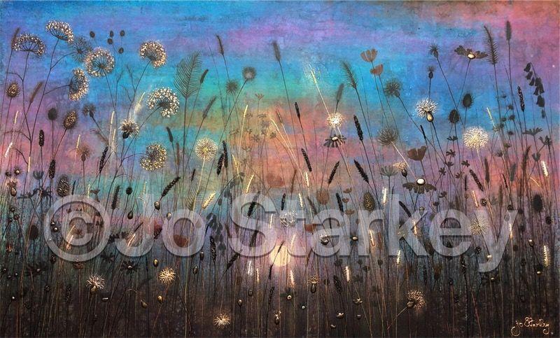 'Meadow at Dusk by Jo Starkey'