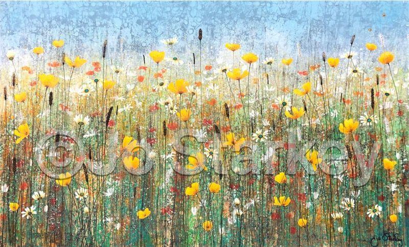 'Yellow Poppies by Jo Starkey'