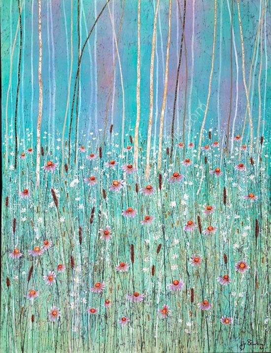 'Sapphire Reeds III'