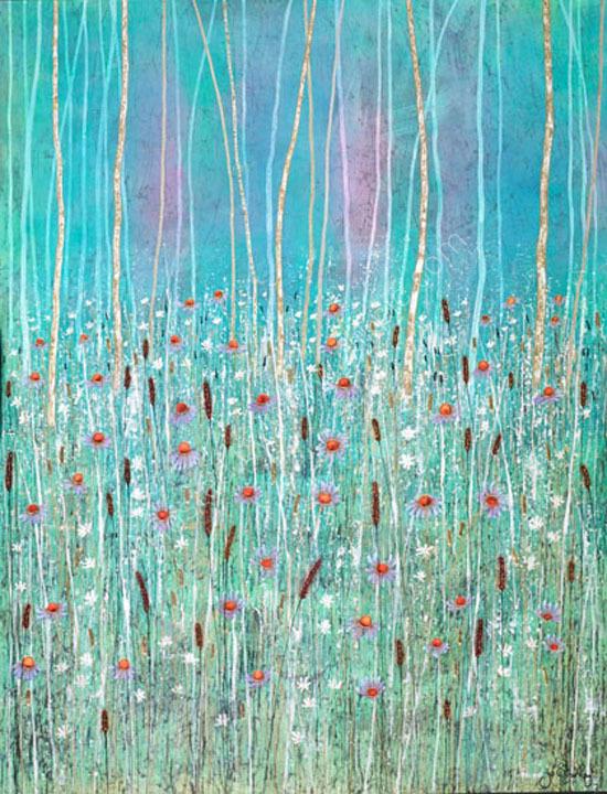 'Sapphire Reeds I'