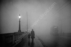 """Fog at Kingston Bridge"" - 1949"