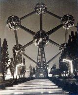 Atomium at Night - 1958