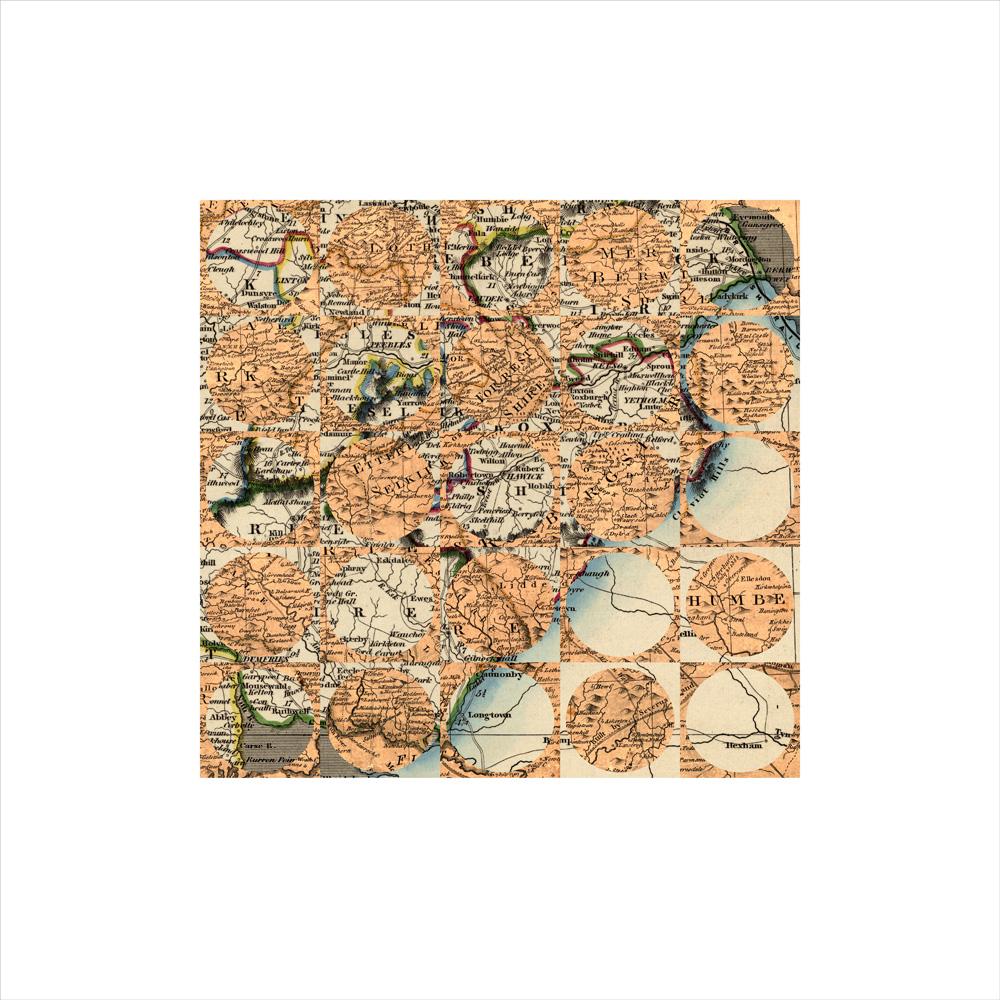 Debateable Lands, 1773 + 1841 (2), Archival Digital Print, 35 x 35cm
