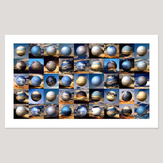 Portpatrick Sunsets, Archival Pigment Print, Image size 91 x 51cm