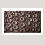 15 K+ Channels + Purkinje cells, Screenprint, 85 x 51cm