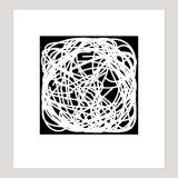15 knots, Archival Digital Print, 20 x 21 cm