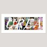 Urea, Archival Pigment Print, Image size 42 x 18cm