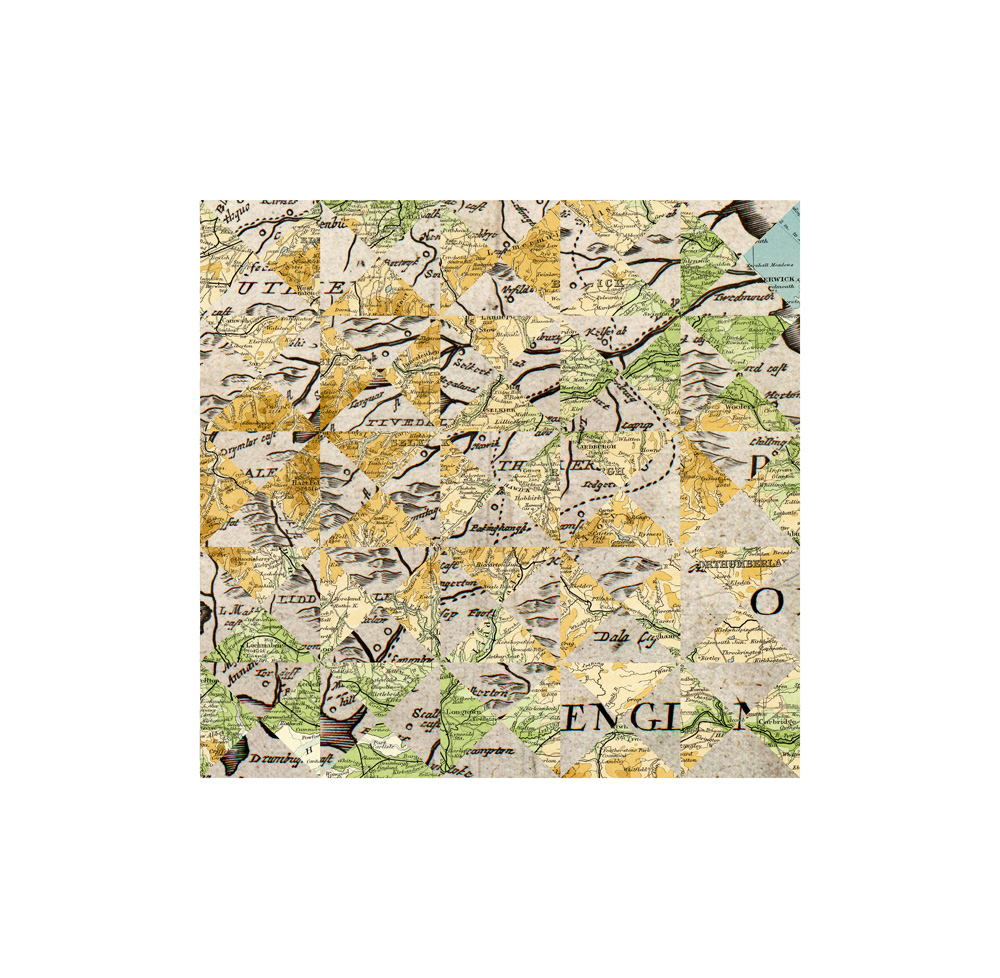 Debateable Lands, 1920 + 1673 (2), Archival Digital Print, 35 x 35cm