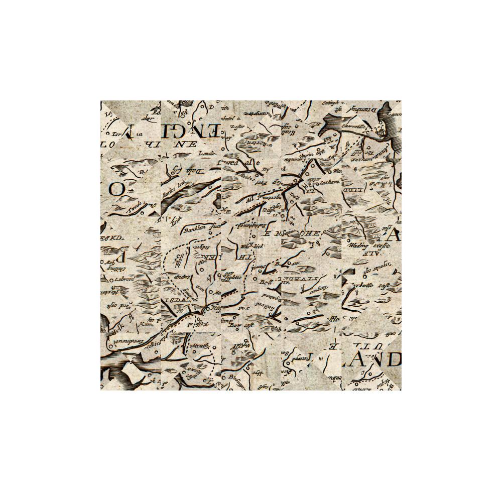 Debateable Lands, 1673, Archival Digital Print, 35 x 35cm
