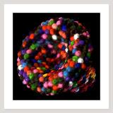 Channel (Coloured Beads), Archival Pigment Print, 76 x 76cm