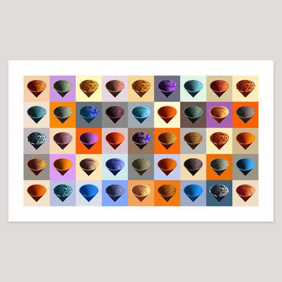 Cones, Archival Pigment Print, Image size 91 x 51cm
