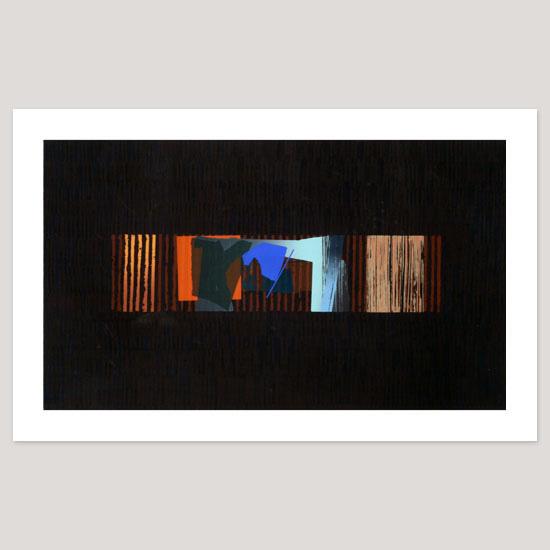 Window, Screenprint, 91 x 52.5cm