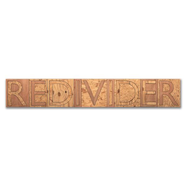 Redivider, Plywood, 40 x 245cm
