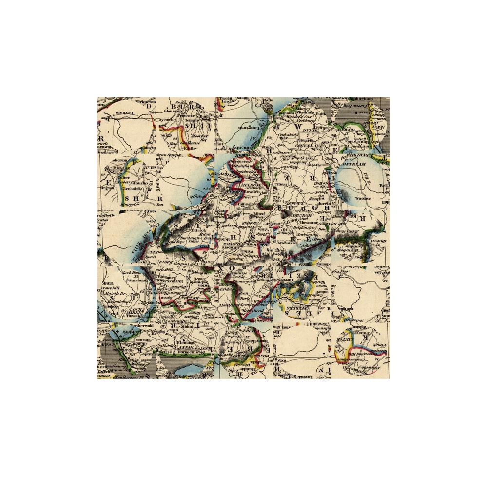 Debateable Lands, 1841 (2), Archival Digital Print, 35 x 35cm