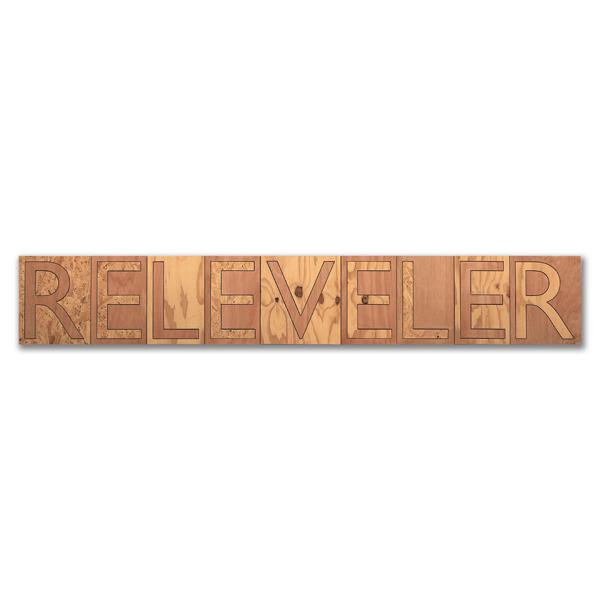Releveler, Plywood, 40 x 254cm