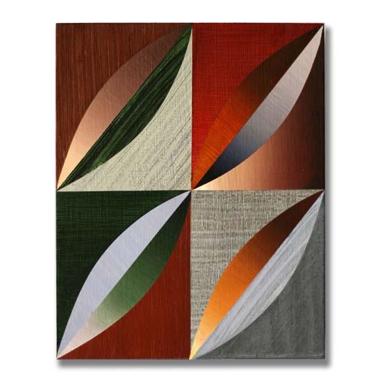 Arcs (2), Acrylic on Wood, 24 x 30cm