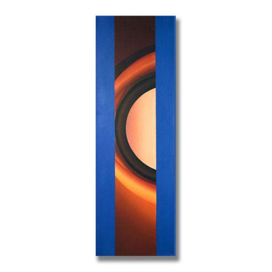Arc, Acrylic on Canvas, 47 x 140cm