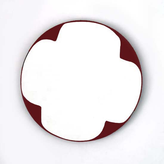 Balallan, Oil/Acrylic/Canvas/Board, 45cm diameter