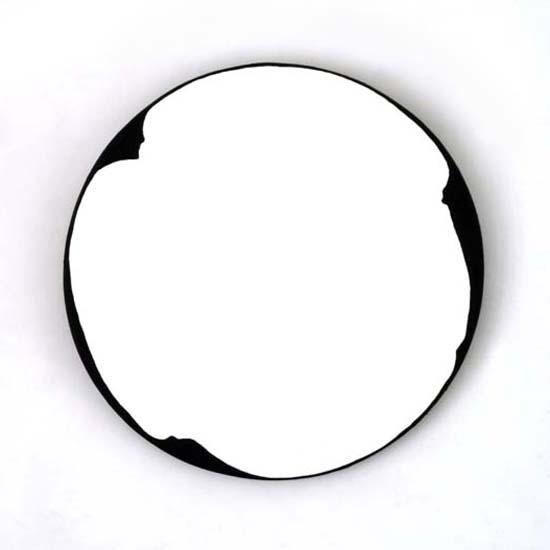 Benbecula, Oil/Acrylic/Canvas/Board, 45cm diameter