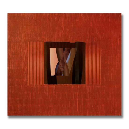 Cable, Acrylic on Canvas, 152 x 137cm