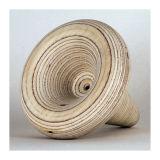 Channel Form (Wood), Plywood, 10 x 10 x 11cm