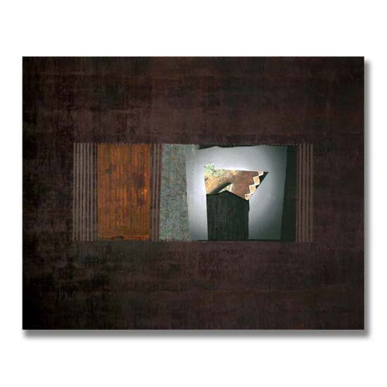 Cog, Acrylic on Canvas, 152 x 122cm