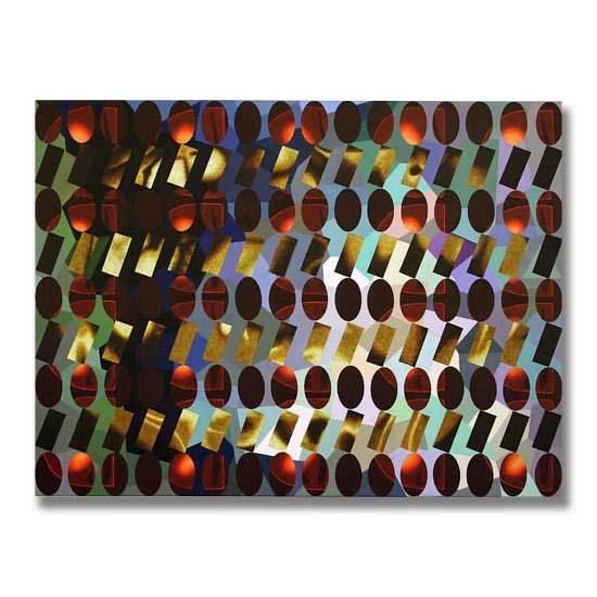 Creatinine (5), Acrylic on Canvas, 122 x 91cm