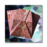 Creatinine (6), Acrylic on Canvas, 45 x 45cm