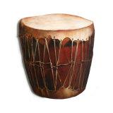 Pueblo Native American Drum, Acrylic/Oil/Canvas/Board. 50 x 56cm