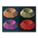 Four Steps, Acrylic on Canvas, 163 x 122cm