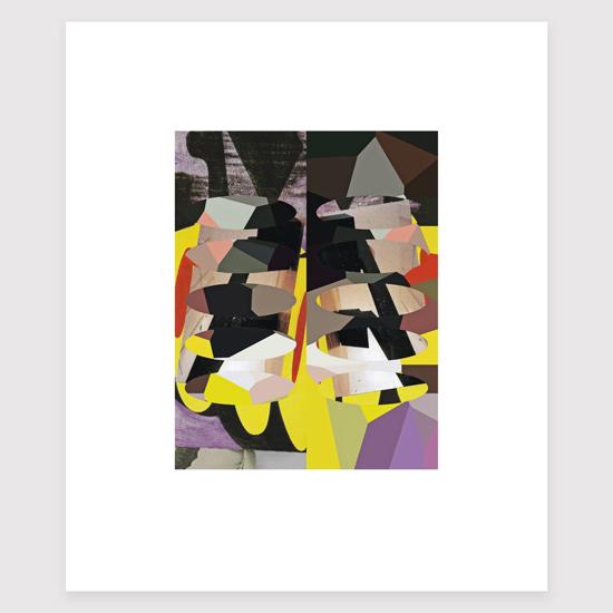 Frieze (14), Archival Digital Print 20 x 26cm
