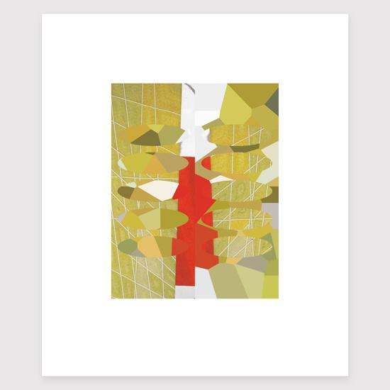 Frieze (4), Archival Digital Print 20 x 26cm