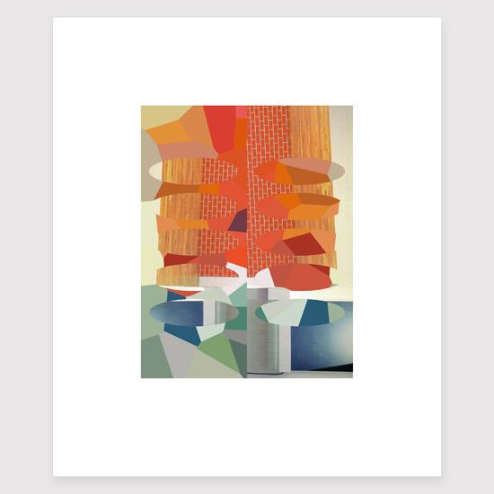 Frieze (7), Archival Digital Print 20 x 26cm