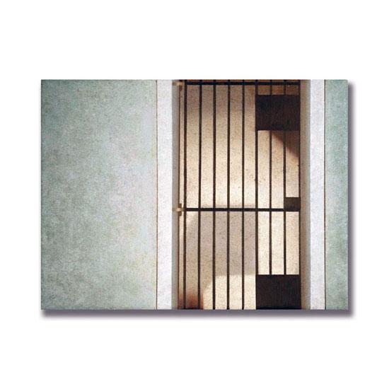Gated, Acrylic on Canvas, 40 x 30cm