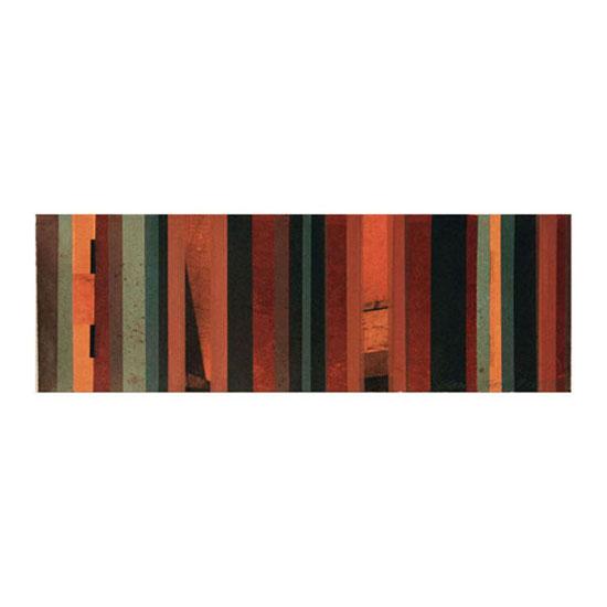Glow, Monoprint/Transfer/Screenprint, 76.5 x 25.5cm