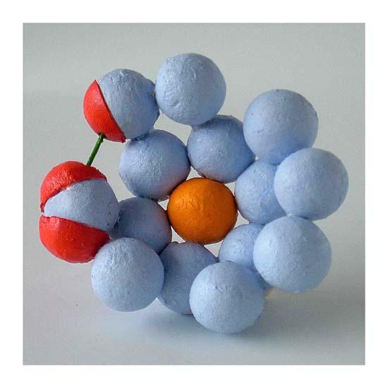 Haemoglobin (10), Mixed Media, 12 x 12 x 8cm