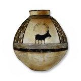 Storage Jar, Iran, Acrylic/Oil/Canvas/Board, 49 x 54cm
