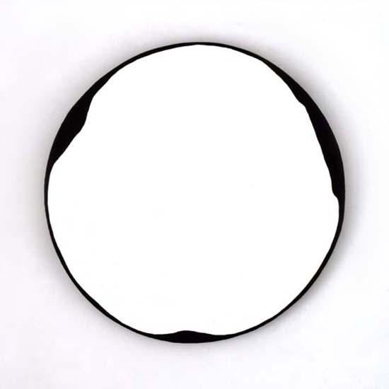 Lochboisdale, Oil/Acrylic/Canvas/Board, 45cm diameter