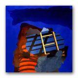 Moonstone, Acrylic on Canvas, 150 x 150cm