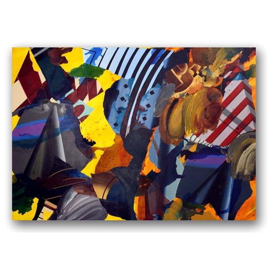 Painting (1), Acrylic on Canvas, 210 x 150cm
