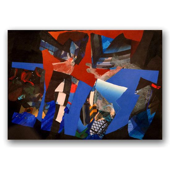 Painting (4), Acrylic on Canvas, 210 x 150cm