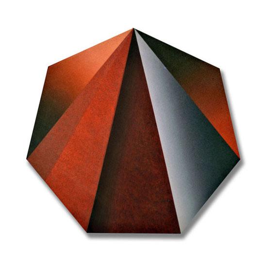 Prism (6), Acrylic on Canvas, 51 x 52cm