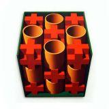 Red Crosses, Acrylic/Canvas/Board, 82 x 92cm