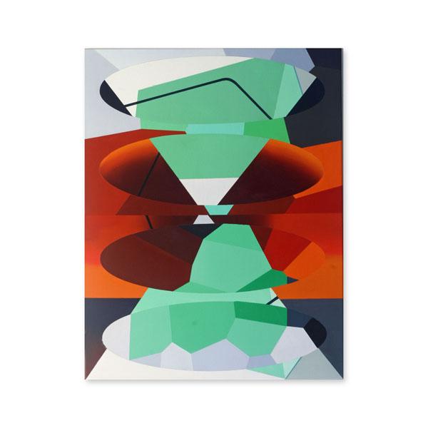 Redivider (Frieze (8)), 71 x 91cm, Acrylic/canvas